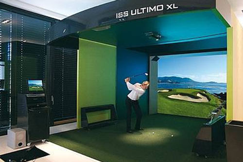 Bild: Indoor Golf